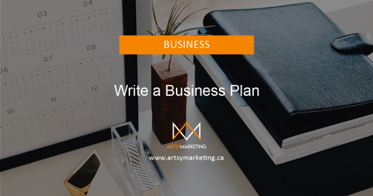 Artsy Marketing - Write A Business Plan